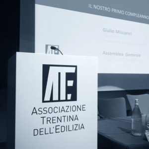 Assemblea Generale di Ance Trento – Associazione Trentina dell'Edilizia