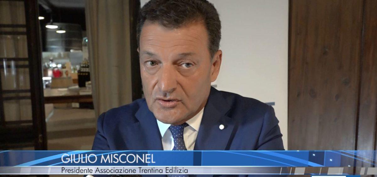 Giulio Misconel a Trentino TV